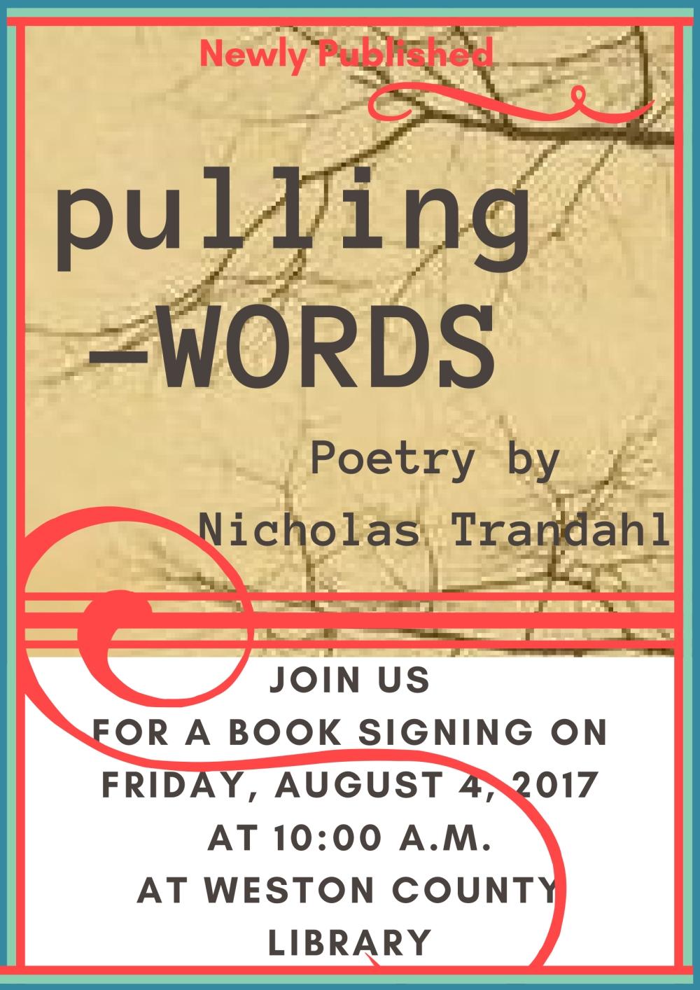 Book Signing Nick